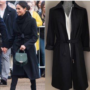 Zara Classic Black Trench Coat